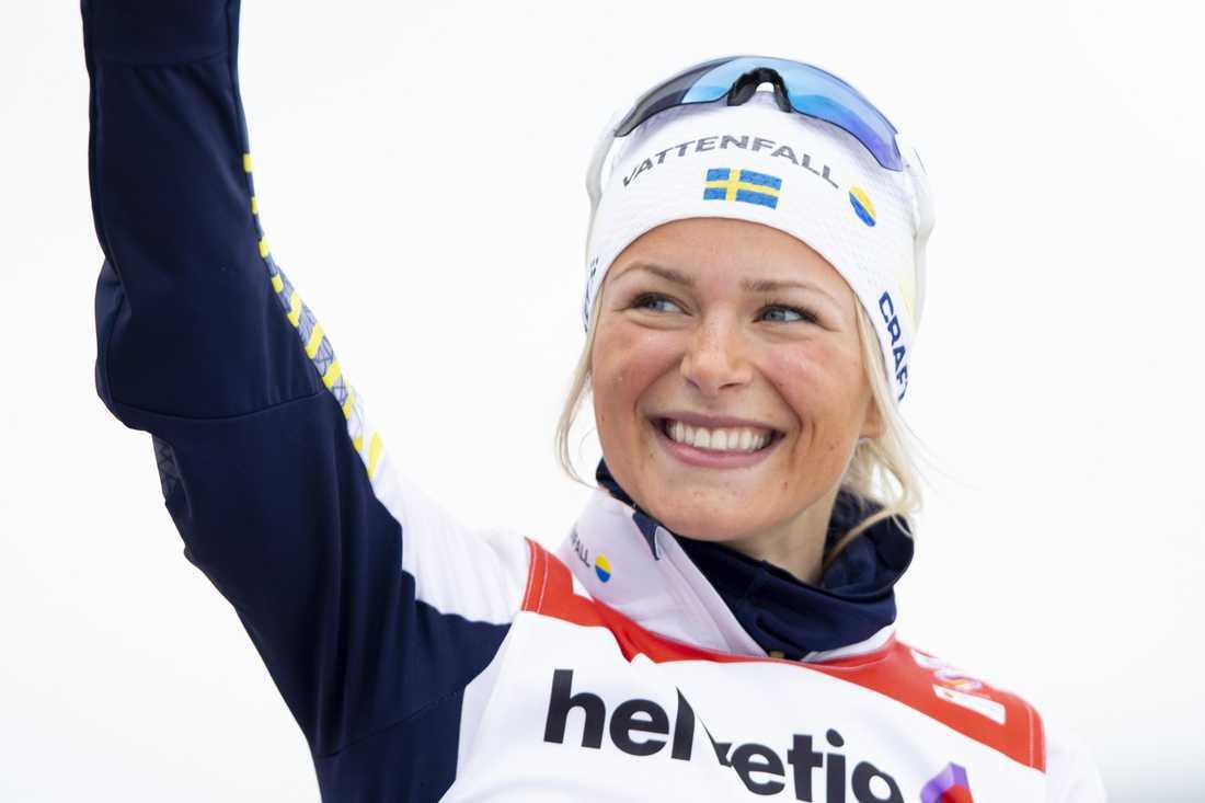 Skidstjärnan Frida Karlsson har gett sig in i travsporten