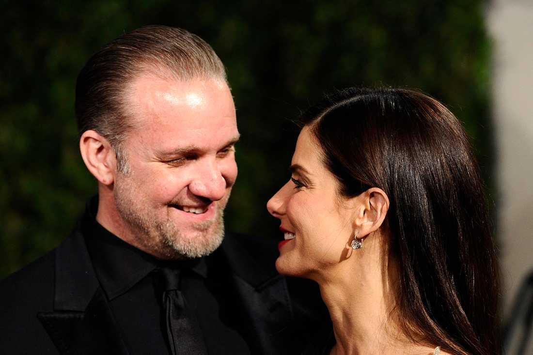 Jesse James och Sandra Bullock.
