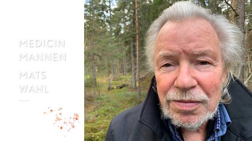 """Mats Wahl, född 1945, debuterade 1978 med """"På spaning efter växandets punkt"""". 1993 fick han Augustpriset för """"Vinterviken""""."""