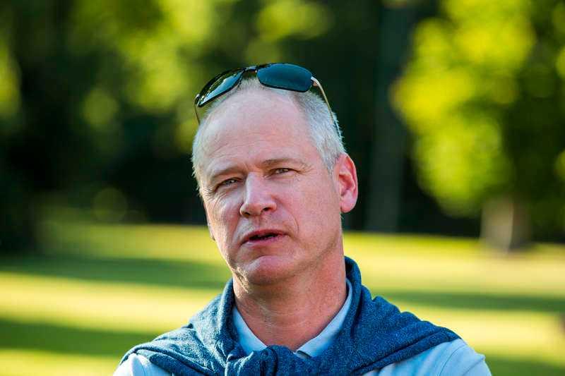 Robert Gustafsson som vi är vana att se honom.