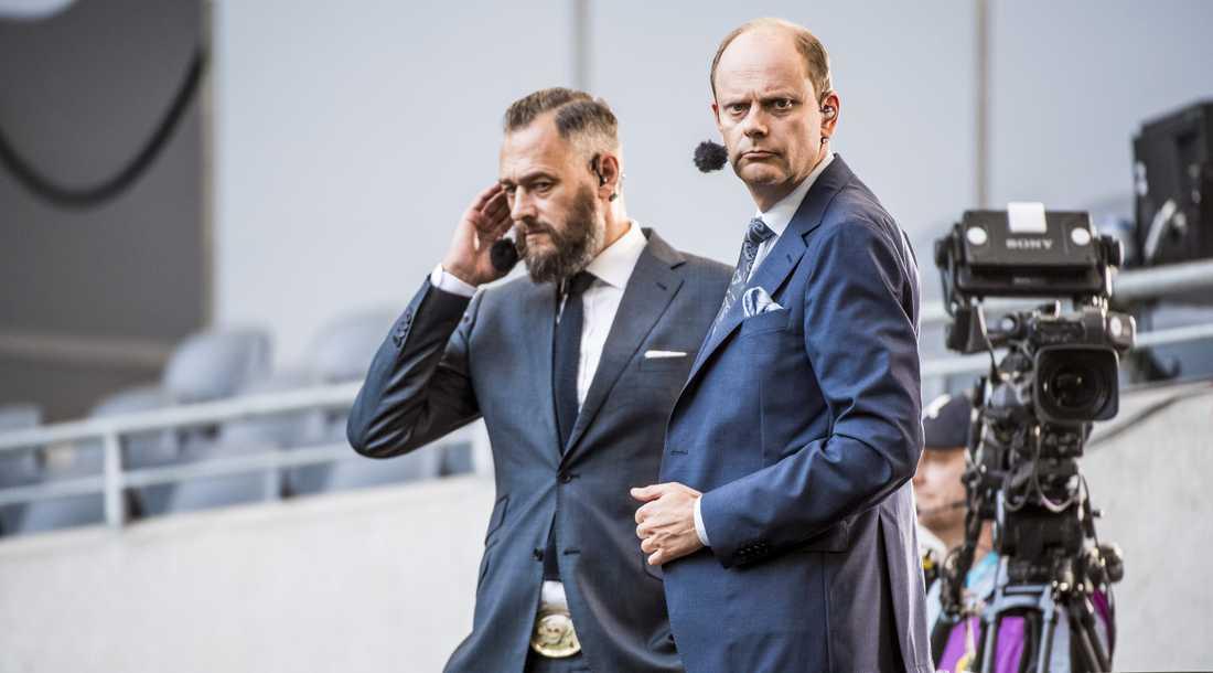 Kan Olof Lundh och Lasse Granqvist komma att sitta i en CL-studio framöver?