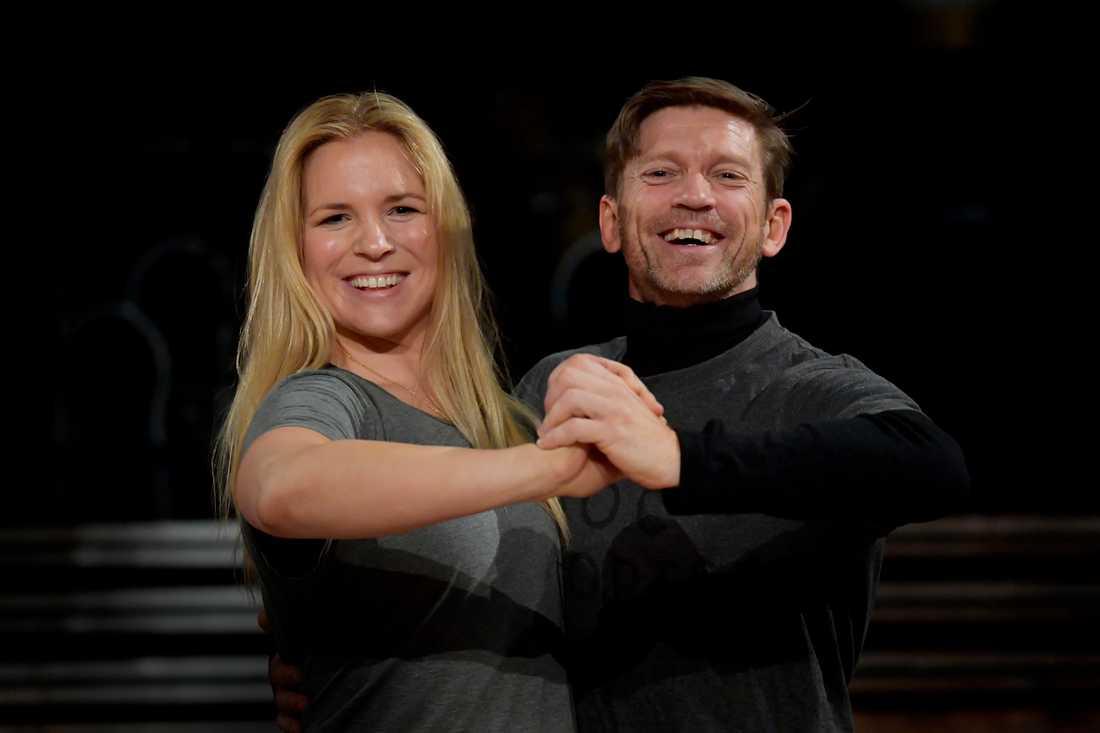 Anja Pärson och Jesper Blomqvist möts i finalen.