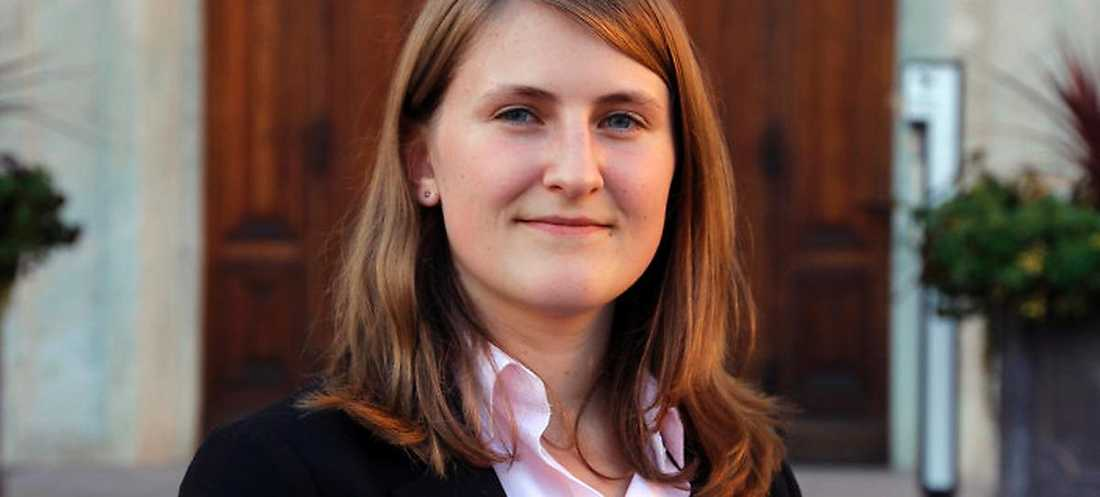 Jessica Ohlson är SDU:s nya ordförande.