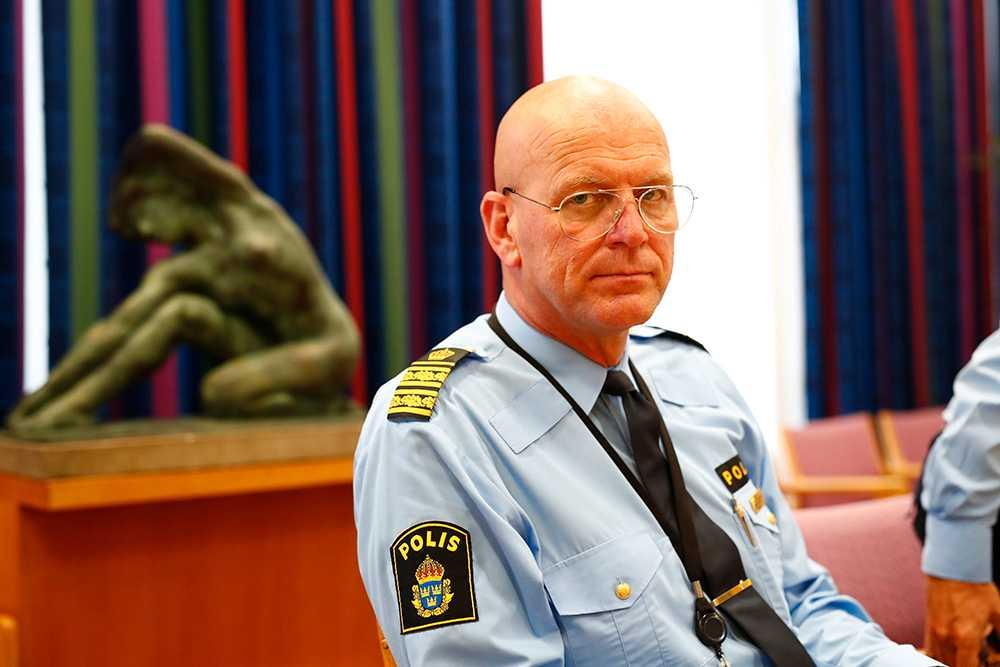 Erik Nord,  polisområdeschef Storgöteborg.