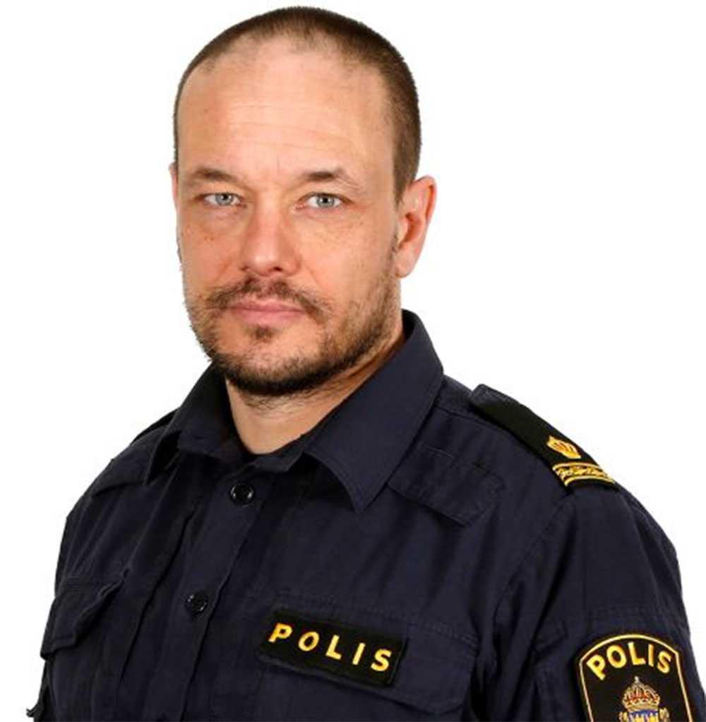 Rickard Lundqvist, presstalesperson polisregion Syd.