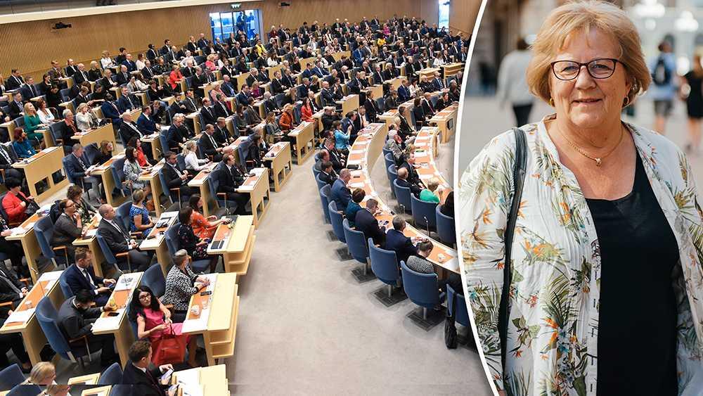 Inte kommer jag att förändra samhället under sex månader i riksdagen. Men jag hoppas kunna bidra till att visa att vi över 65 finns. Tillsammans, både gamla och unga, kan vi bidra till ett bättre samhälle, skriver Elsemarie Bjellqvist (S).