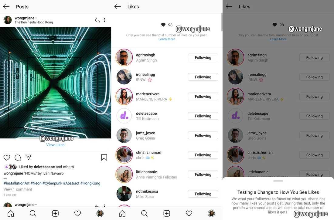 Instagram kan komma att gömma antalet gilla-markeringar, enligt läckta uppgifter.
