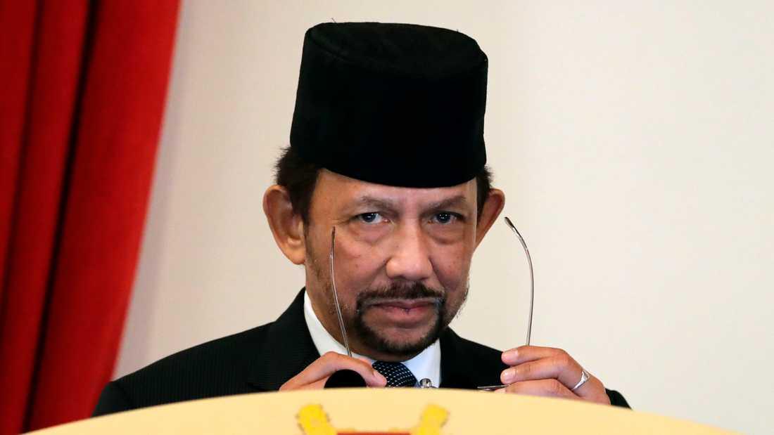 Bruneis sultan Hassanal Bolkiah. Arkivbild.