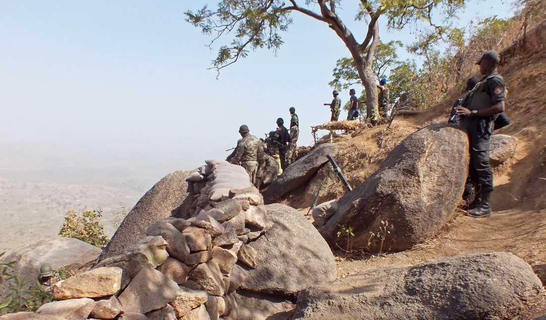 Kamerunska soldater anklagas för delansvariga för en massaker på civila. Bilden är tagen i ett annat sammanhang.