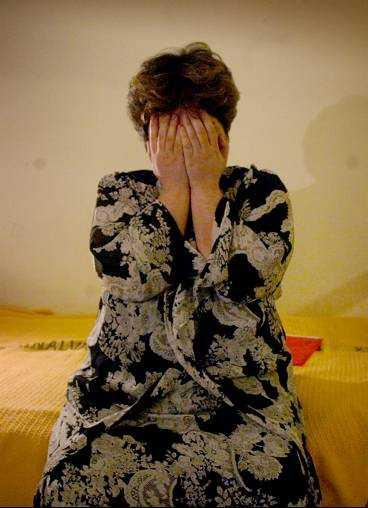 Mayram Ghasen, 32, lider av en obotlig hjärntumör.