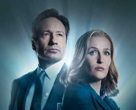 Mulder och Scully – eller skådespelarna David Duchovny och Gillian Anderson – lockade tittare till TV3.