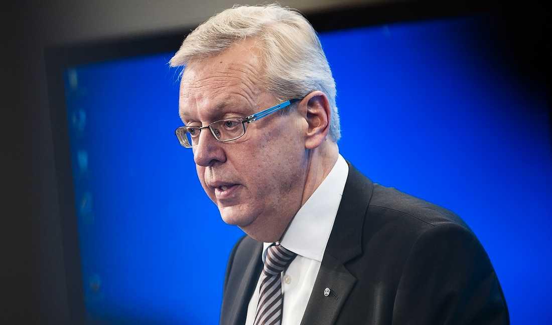 UTMANAR HÄGGLUND Mats Odell har öppet gått ut med att han kandiderar som partiledare för Kristdemokraterna. Hittills har Odell nominerats av två partidistrikt: Uppsala och Stockholms län.