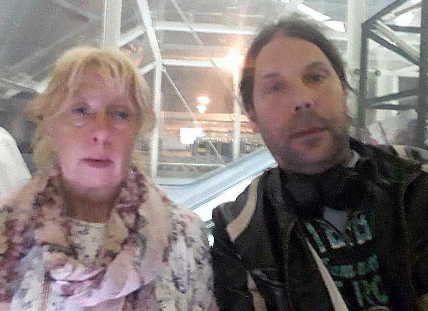 Mariette Björk och John Swahn.