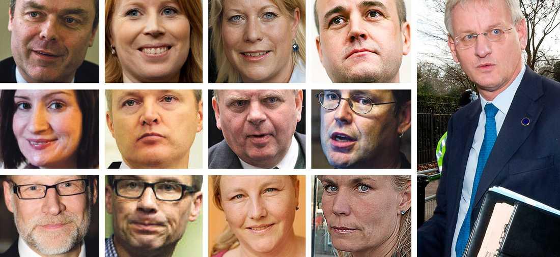 Mer än hälften av ministrarna i regeringen äger fonder som satsat pengar i Lundin Petroleum