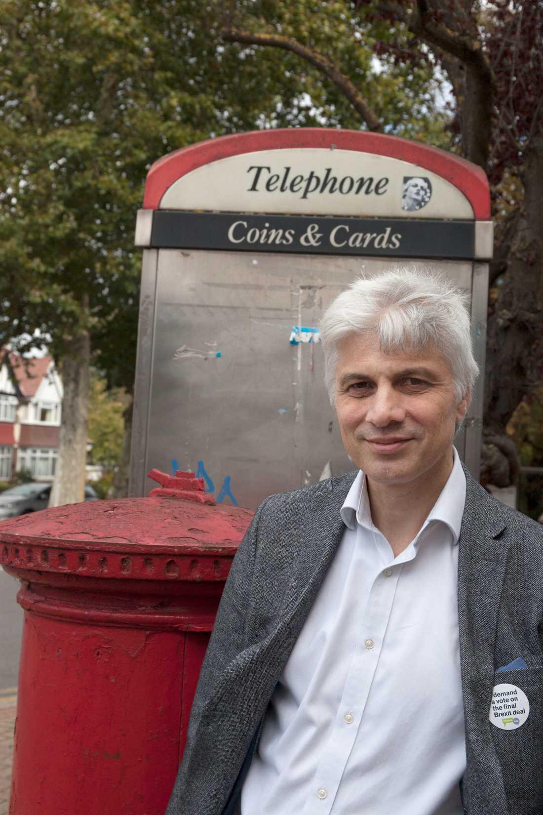 Steve Smith, en av många preppare i Storbritannien.