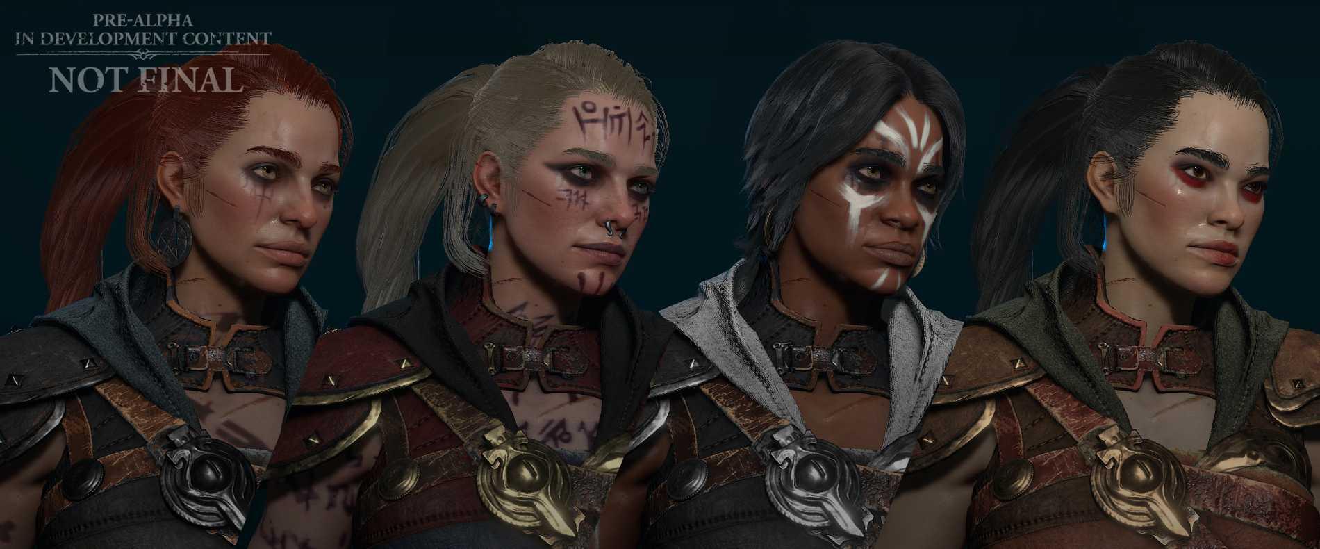 Ett exempel på hur rogue-klassen kan se olika ut.