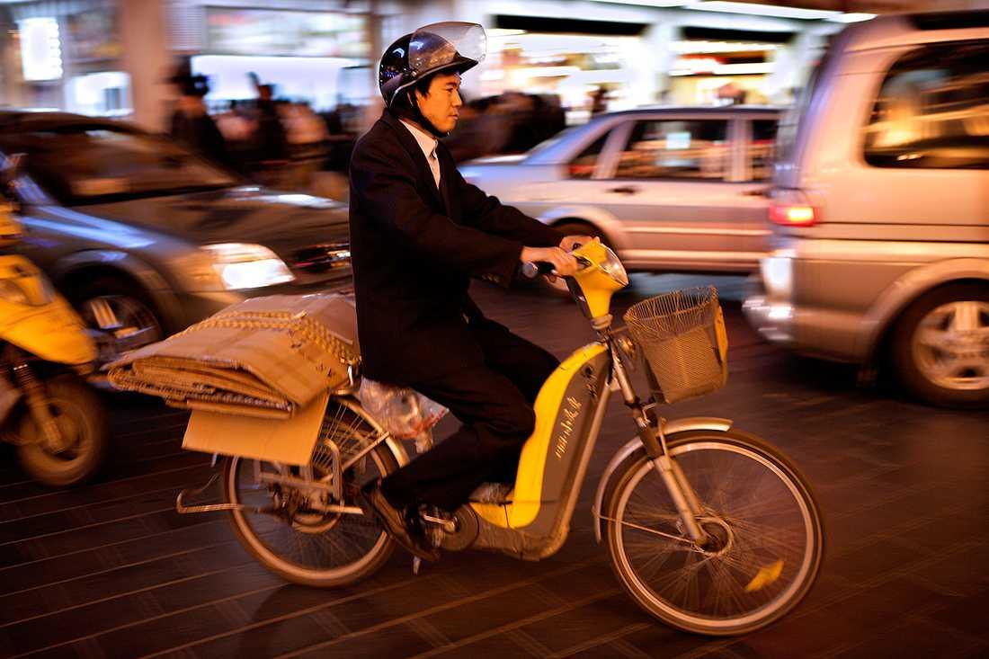 VÄRLDENS MEST TÄTTBEFOLKADE STAD Hela 24 150 000 människor bor i Shanghai, Kina.