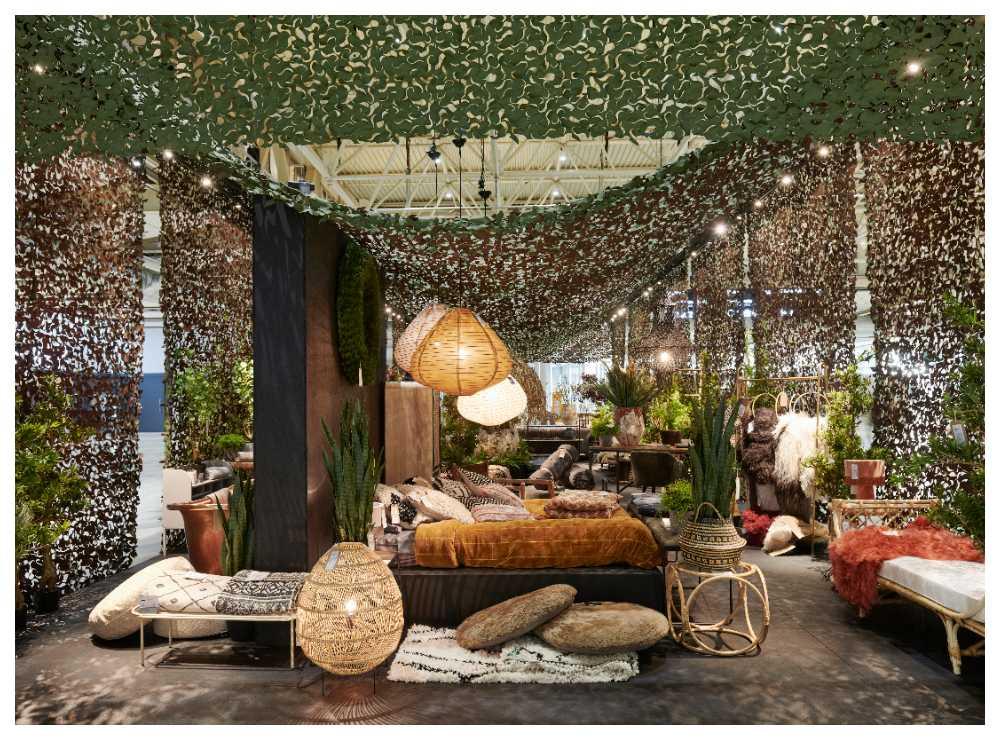 I entrén till Formex kan besökarna kliva in i inredningsgurun Abigail Aherns mysiga utrymme och inspireras av trenderna.