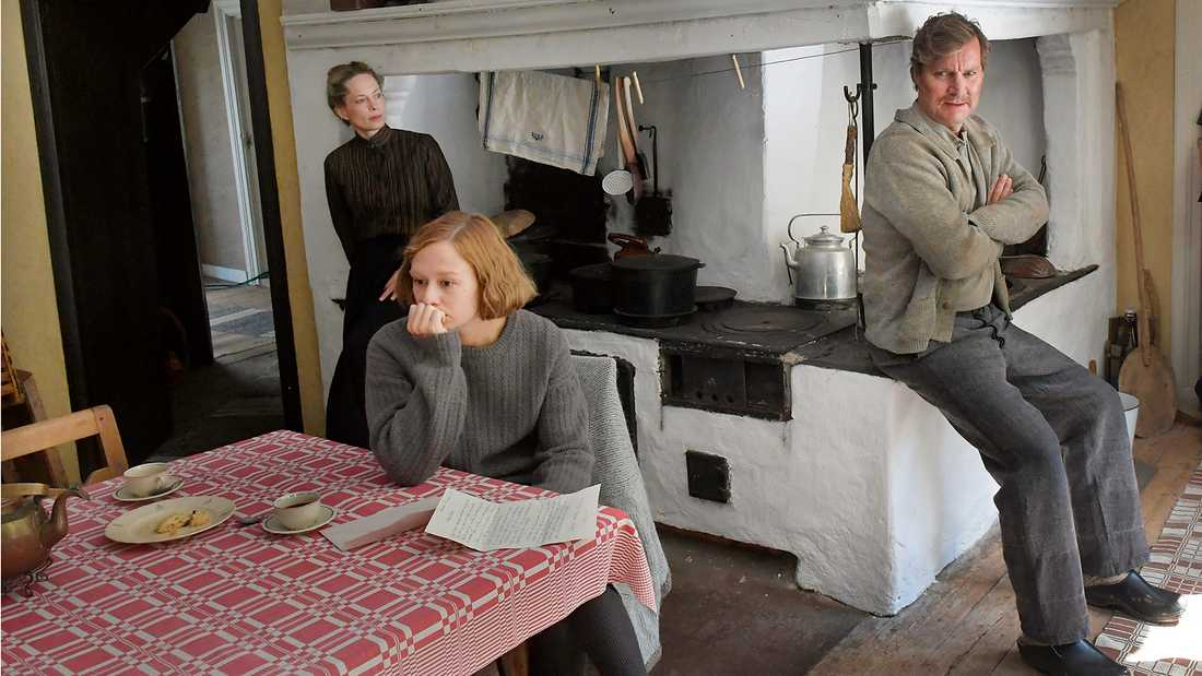 Maria Bonnevie, Alba August och Magnus Krepper.