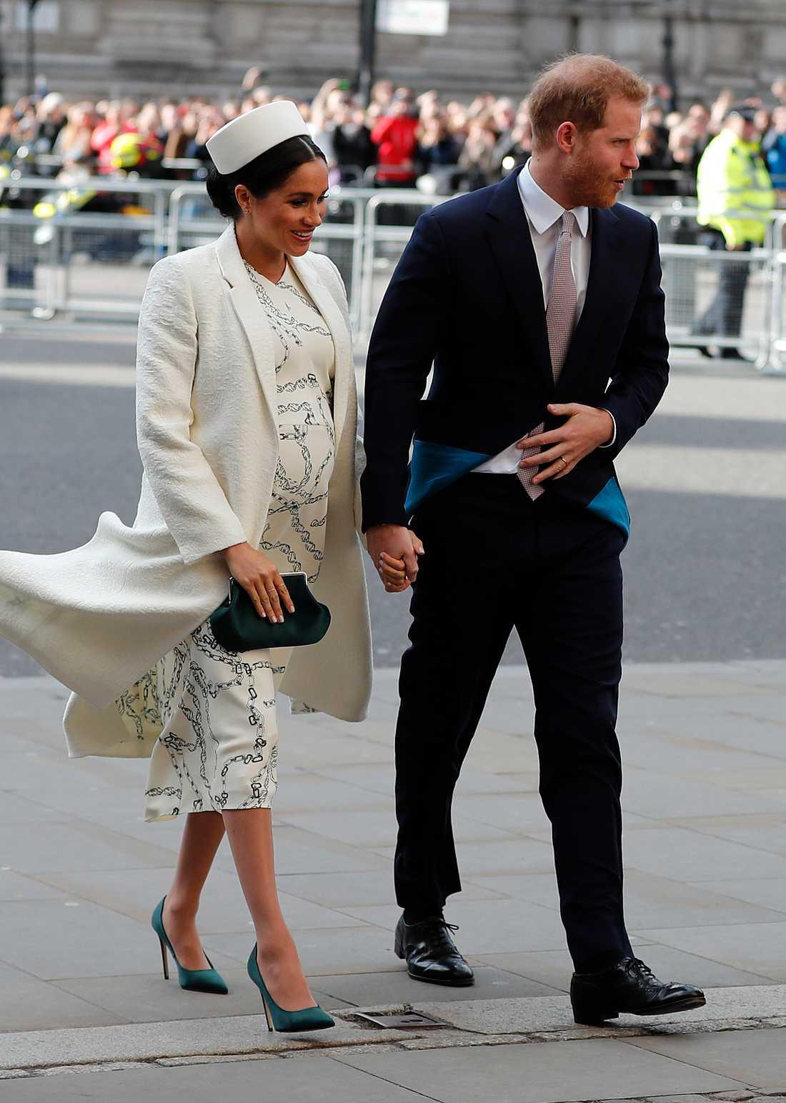 Det är osäkert när prinsparets barn är beräknat att födas.