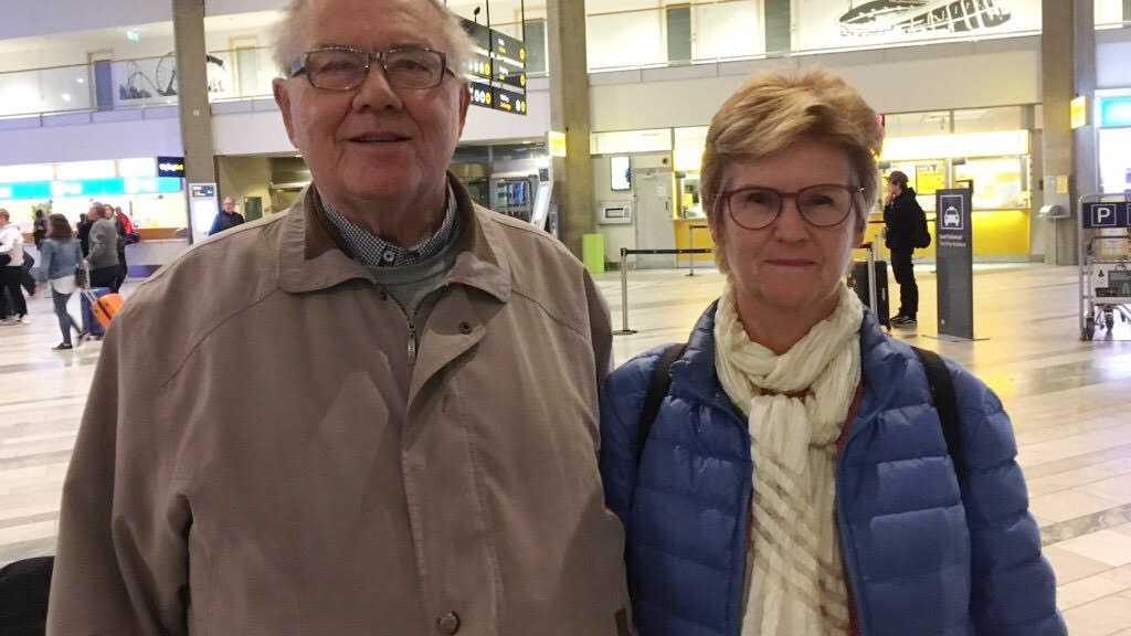 Bengt och Birgitta Ellison.