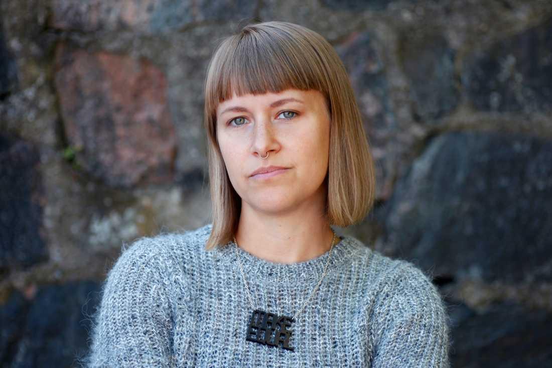 """Kristnia Wicksell, kommunikatör och föreläsare på föreningen """"Make equal"""""""