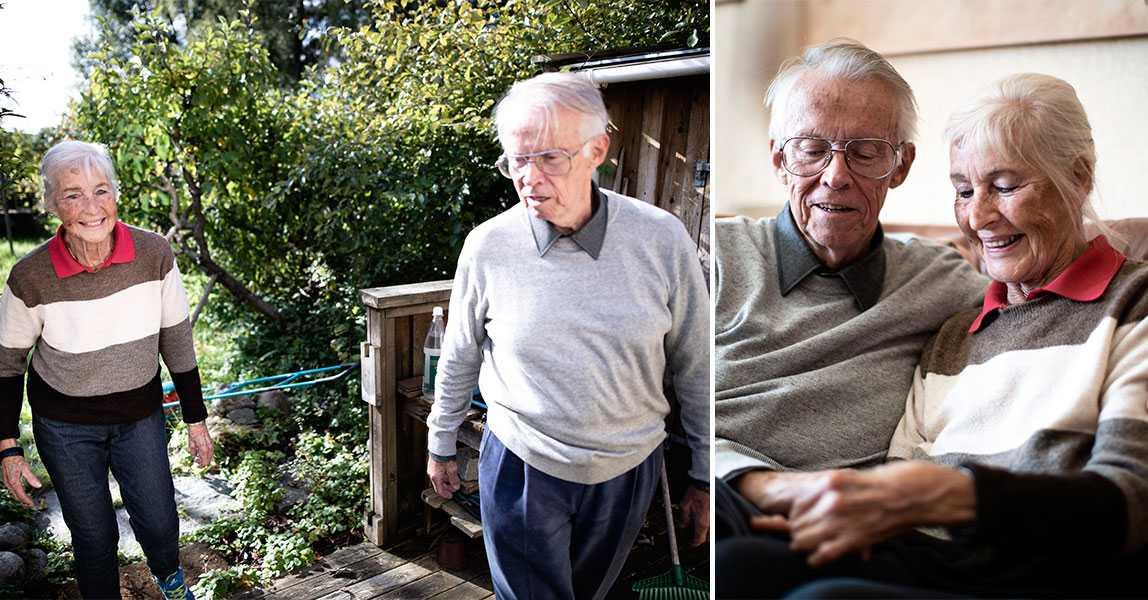 Snart minns Helga, 79, inte sin egen man
