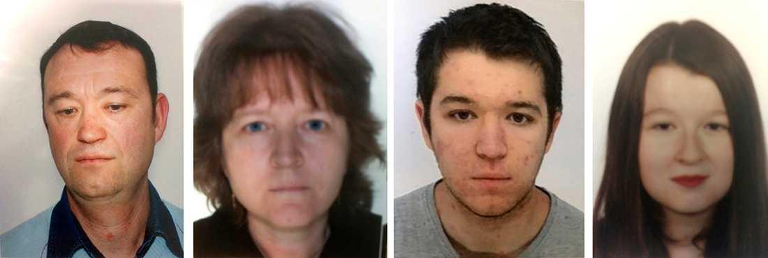 Ingen har sett till familjen Troadec sedan 16 februari. Sedan dess är föräldrarna Pascal och Brigitte samt deras barn Sebastien, 21, och Charlotte, 18, försvunna.