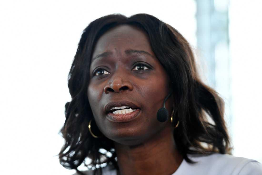 Liberalernas ledare Nyamko Sabuni säger nej till att förhandla med SD. Arkivbild.