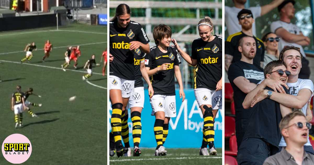 Drömmål av AIK:s Honoka Hayashi