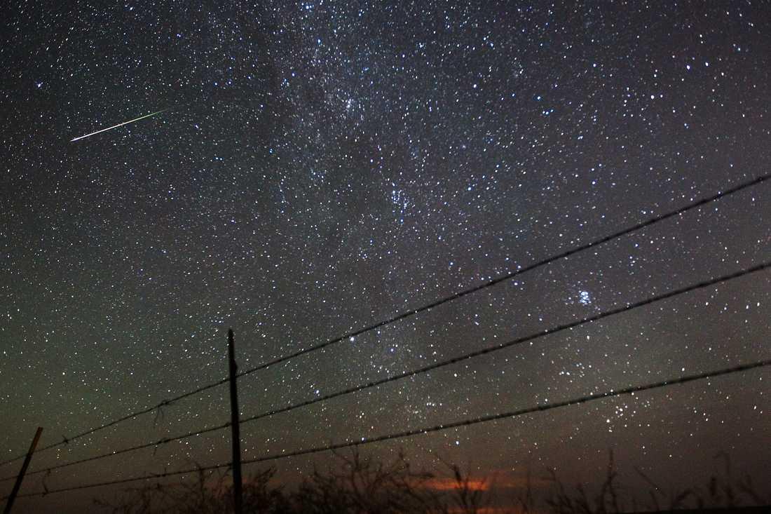Meteorregnet Perseiderna är som mest aktivt natten mellan onsdag till torsdag. Arkivbild.