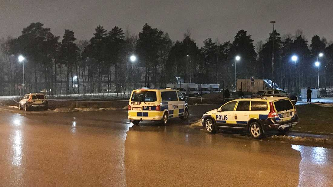 Skjutning i Råby, Västerås