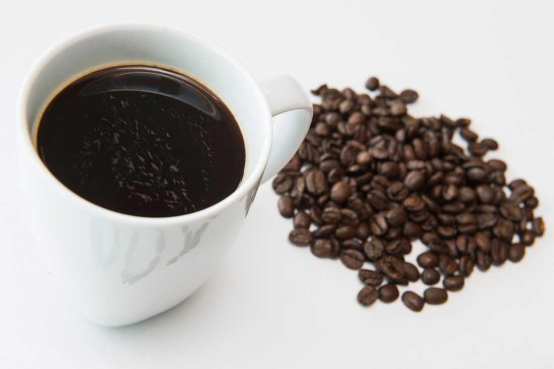Tre koppar kaffe om dagen ger en positiv hälsoeffekt, visar en ny studie. Arkivbild.