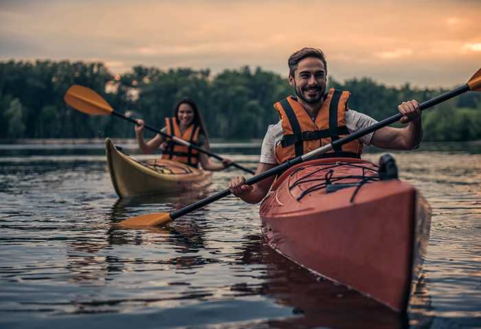 Gondoler och taxibåtar är okej - men inte kanot eller kajak.