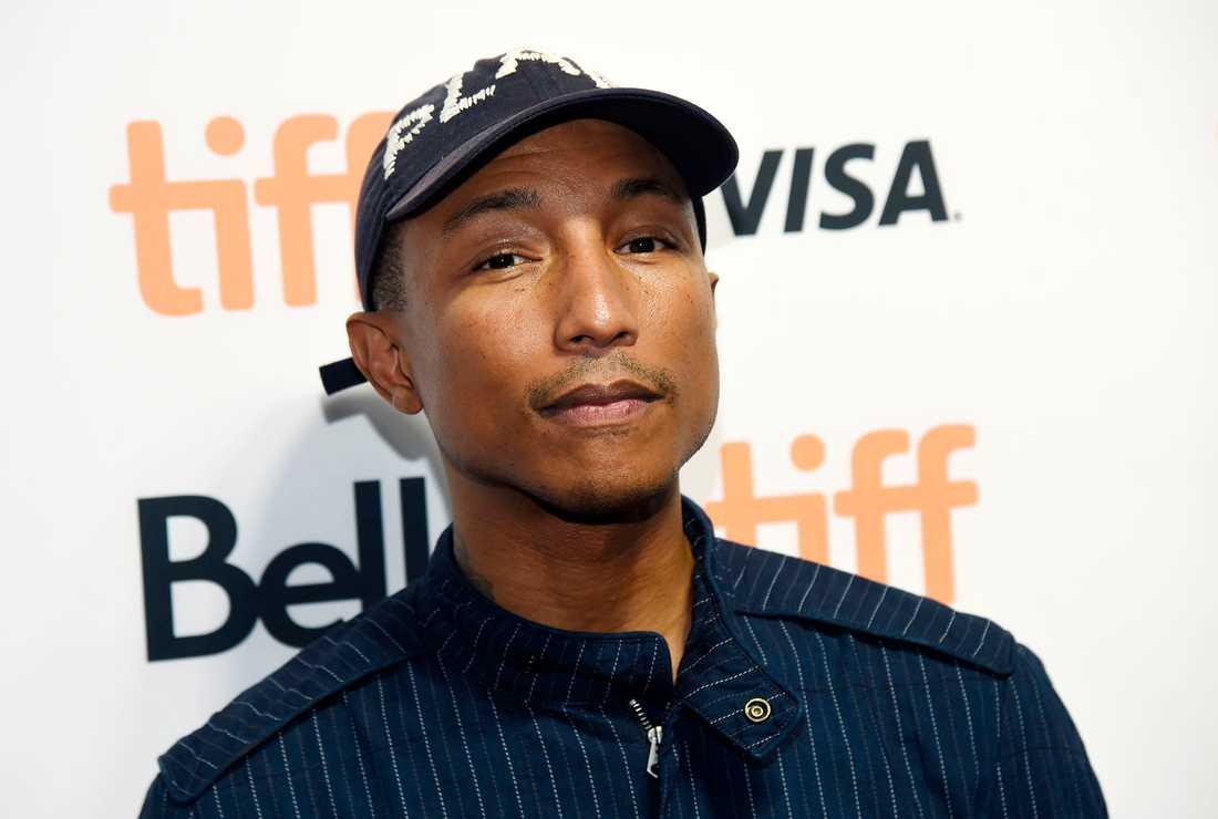 Pharrell Williams har fått trillingar.