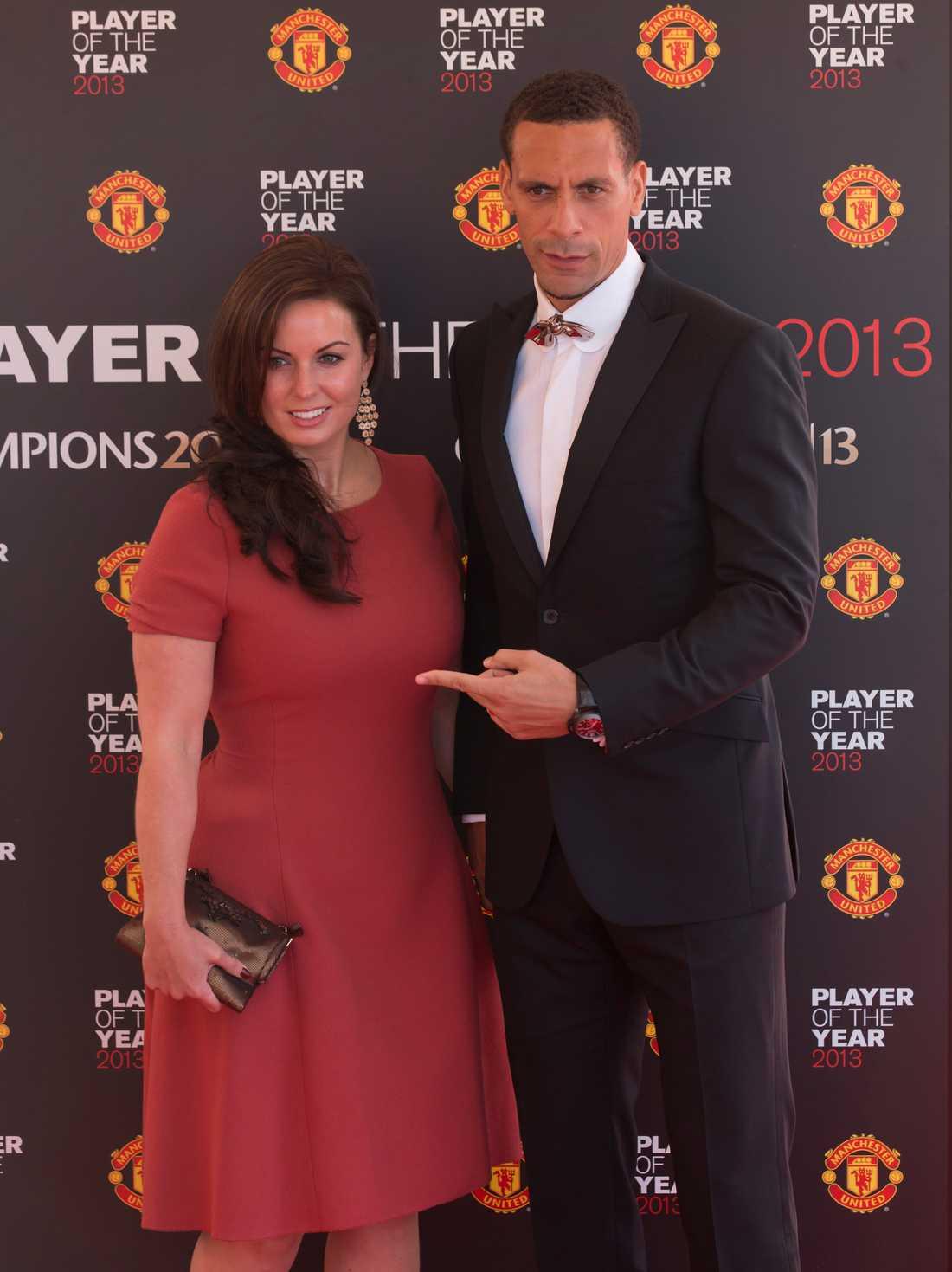 Ferdinand med avlidne frun Rebecca.