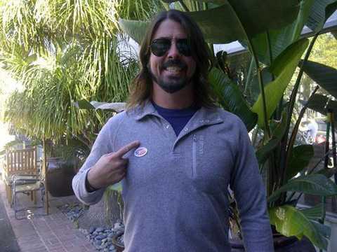 Foo Fighters-sångaren Dave Grohl pekade nästan rätt.
