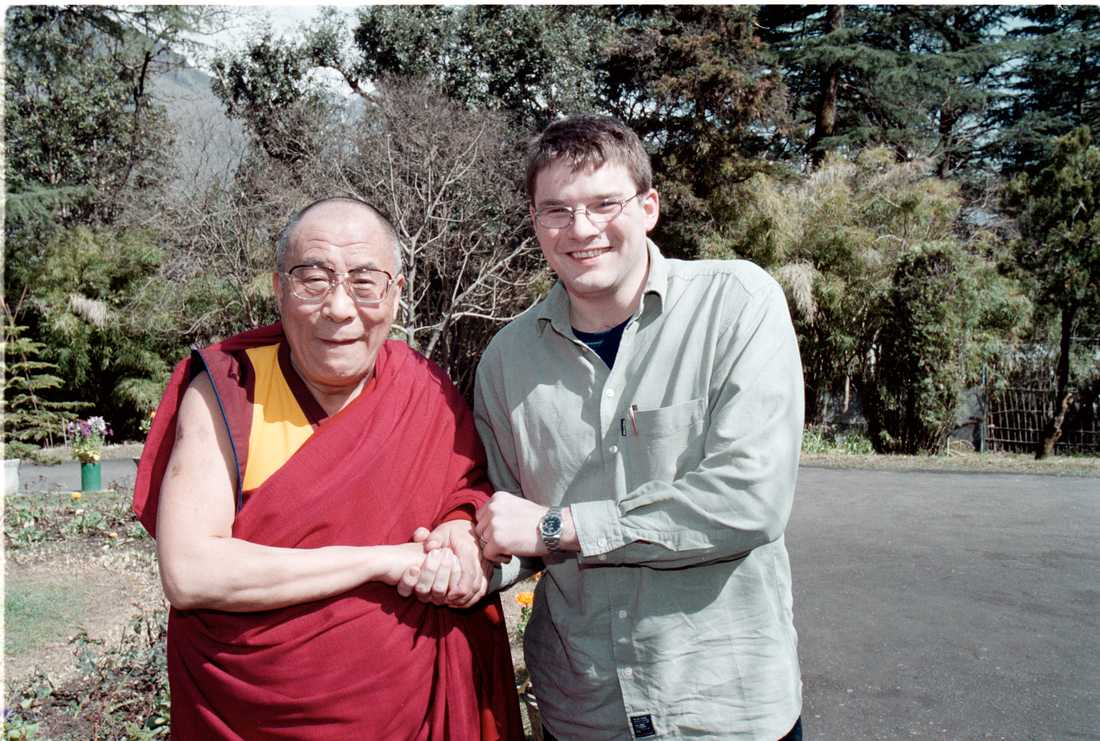Intervju med Dalai Lama i april 2000.