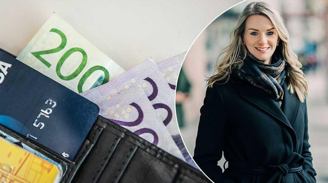 Sparekonomen Maria Landeborn tipsar om sparande.
