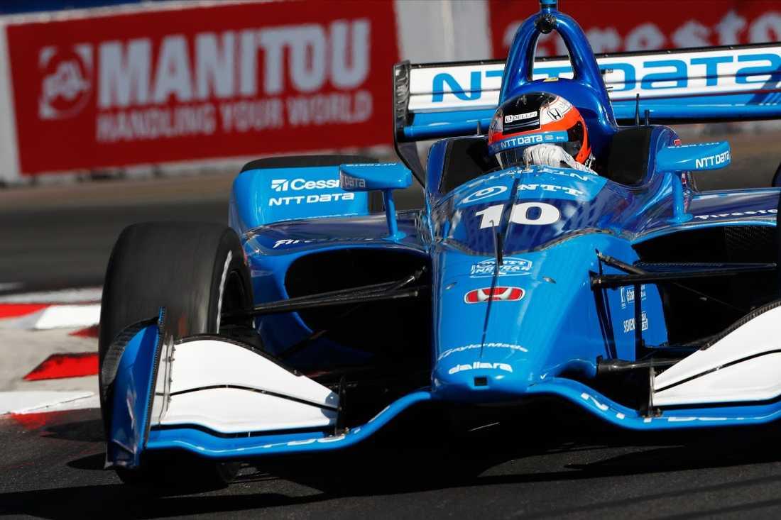 Nu startar Felix Rosenqvist jakten på segern i Indianapolis 500