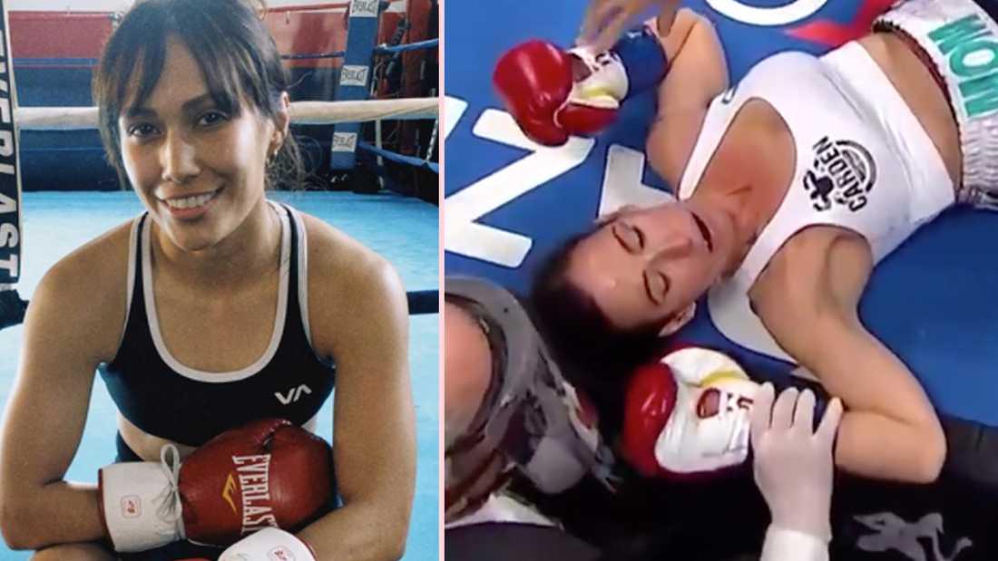 Seniesa Estrada knockade Miranda Adkins efter bara sju sekunder. Nu rasar boxningsvärlden efter fajten.