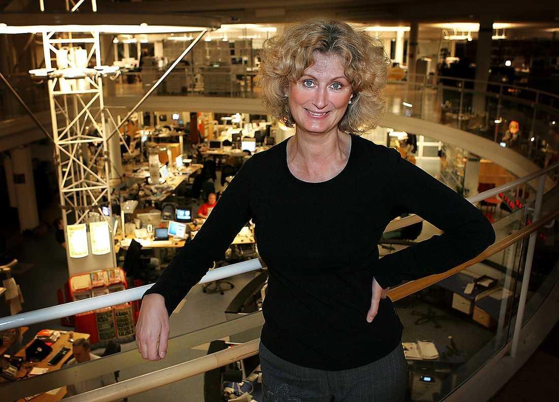 Aftonbladets reporter Mary Mårtensson drabbades av bröstcancer 2009.