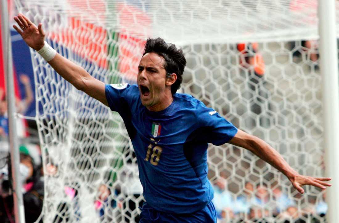 Jubel efter ett mål mot Tjeckien i VM 2006.