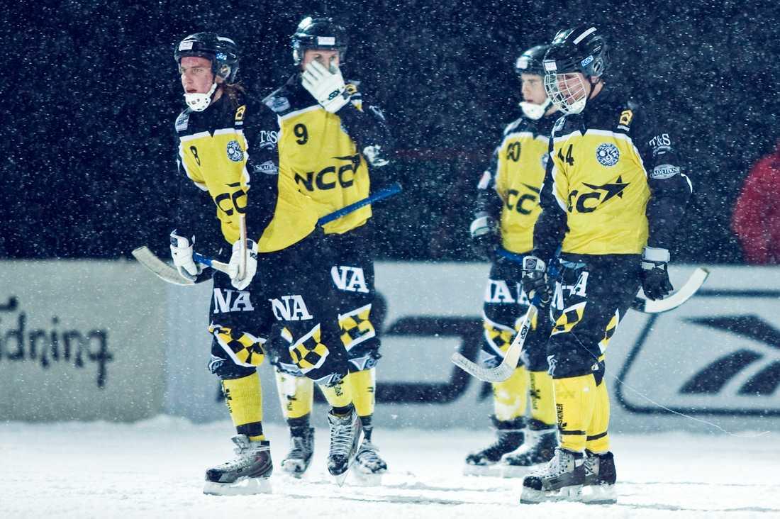 Senast Örebro spelade i elitserien var 2009. Här i en match mot Sirius.