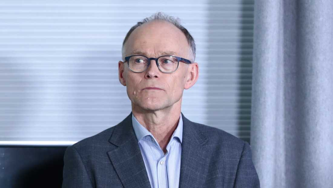 Norges statsepidemiolog Frode Forland. Arkivbild.