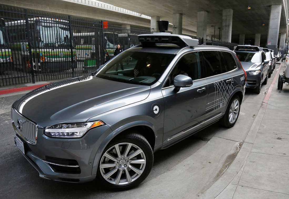 En av Volvos självkörande bilar som testats i USA