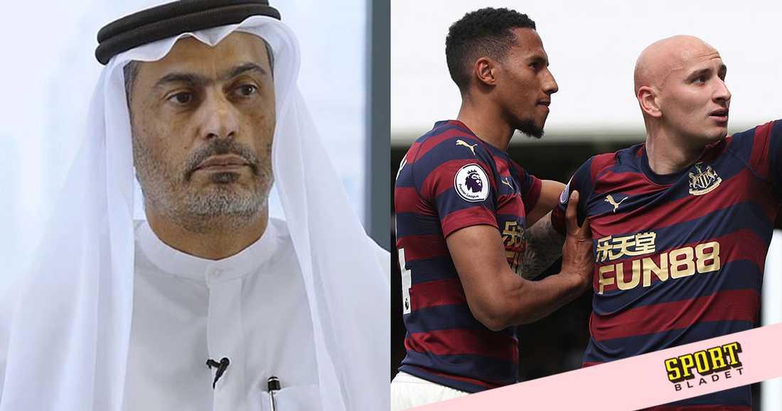 Shejk Khaled bin Zayed Al Nehayan uppges köpa Newcastle United.
