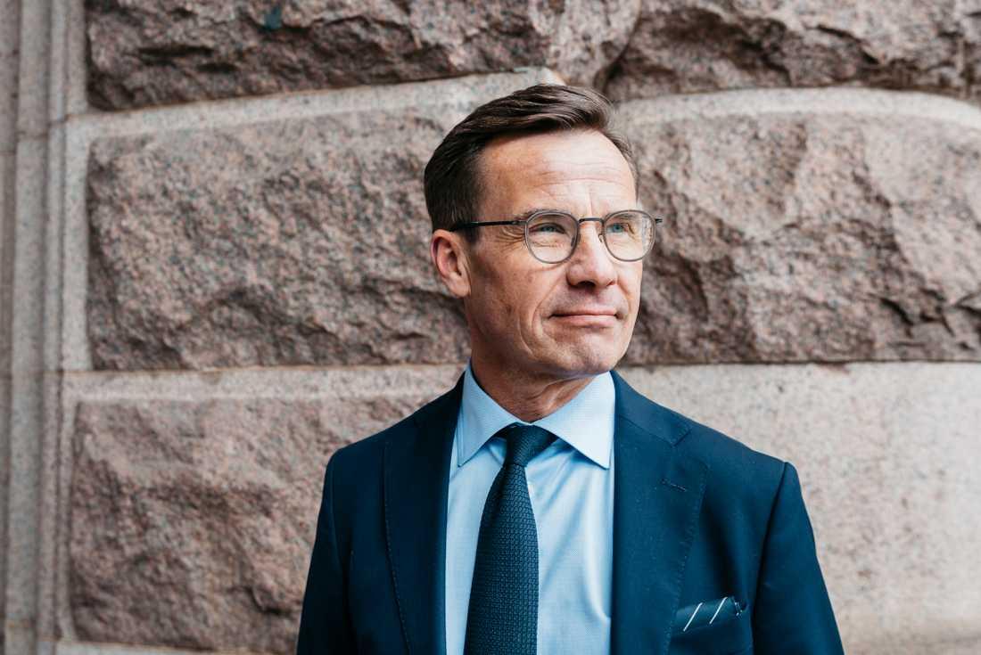 Moderatledaren Ulf Kristersson.