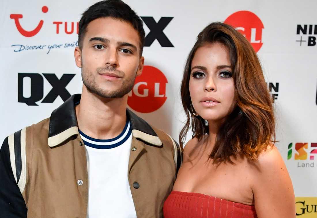 Eric Saade och Nicole Falciani skulle gift sig i Toscana i sommar.