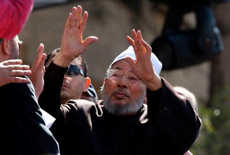Yusuf al-Qaradawi.